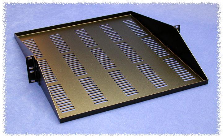 Hammond Mfg Shelves Fixed Panel Mount Single Pair