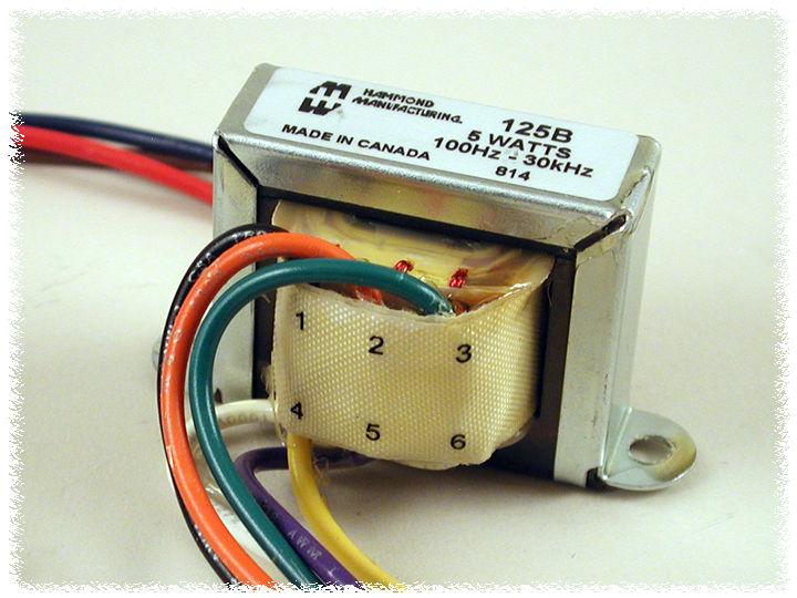 Hammond 125ESE output transformer trasformatore d/'uscita 15W//80mA