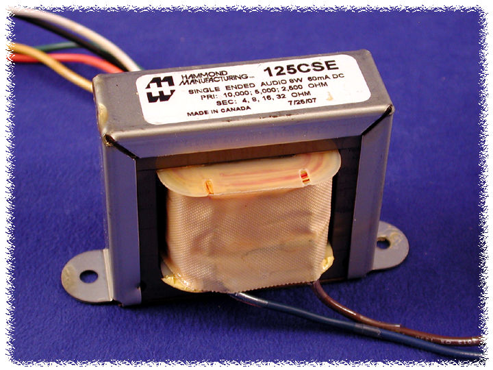 Hammond Mfg  - Universal - Single Ended - Tube Output Transformers