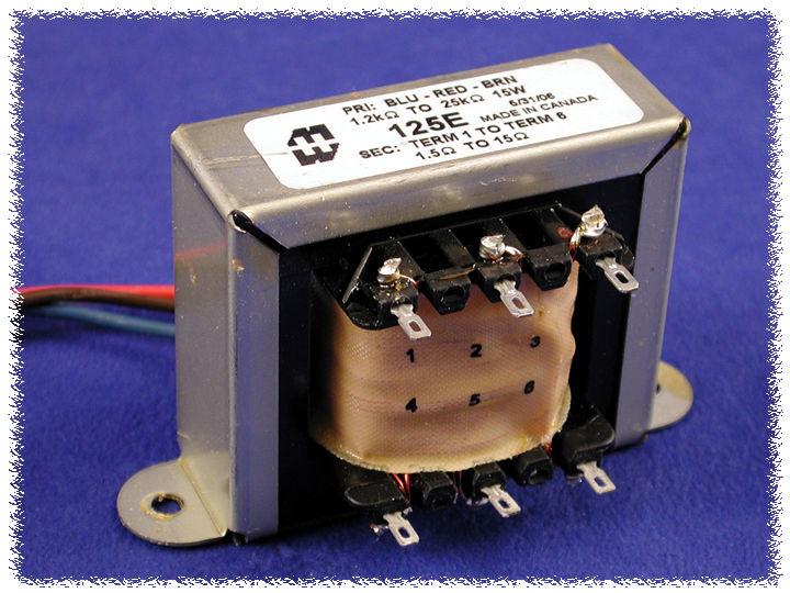 Hammond Mfg. - Universal Tube Output - Push-Pull ... on