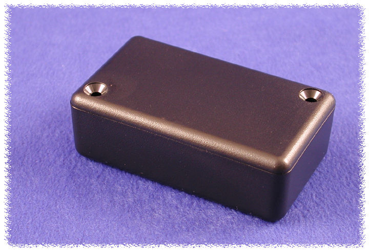 1551GBK Hammond Miniature Plastic Enclosure Black Ip54