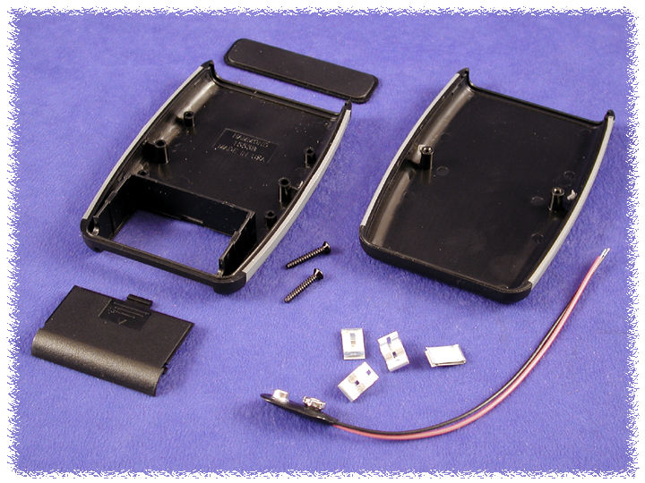 SOFT schierato HAND HELD ENCLOSURE GRIGIO 117 x 79 x 24 MM ABS progetto BOX CASE