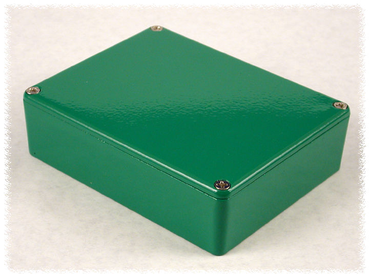 1590BBGR - 1590-Stomp Series Enclosures