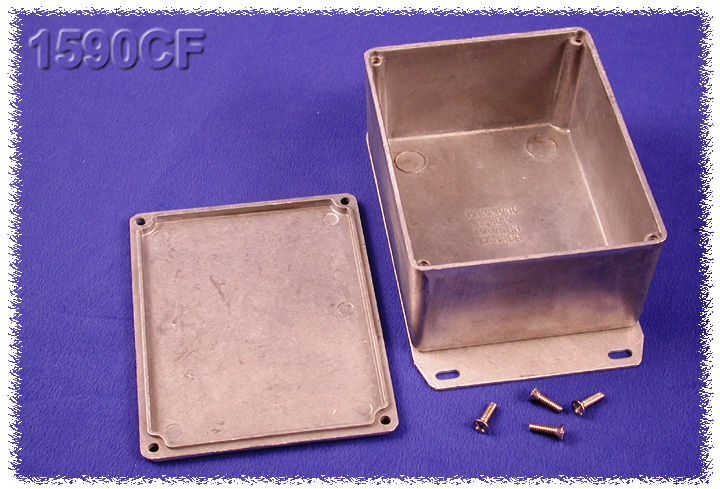 FLANGED LID 51 MM 31 MM Enclosure Aluminium Price//EA IP54 51 MM DIECAST HAMMOND MANUFACTURING 1590LBFL Instrument Unfinished ;ROHS Compliant: YES
