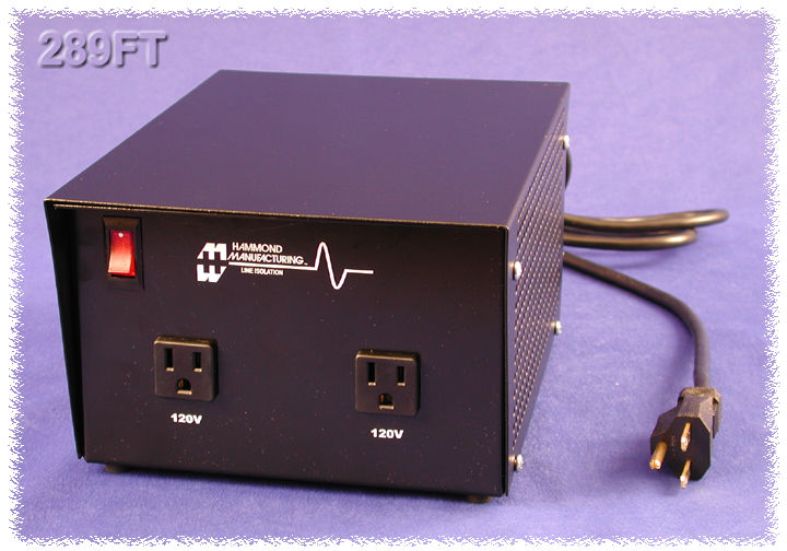 Hammond Mfg  - Isolating  Step Down  - Plug In