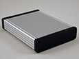 Extruded Aluminum - Plastic End Panels