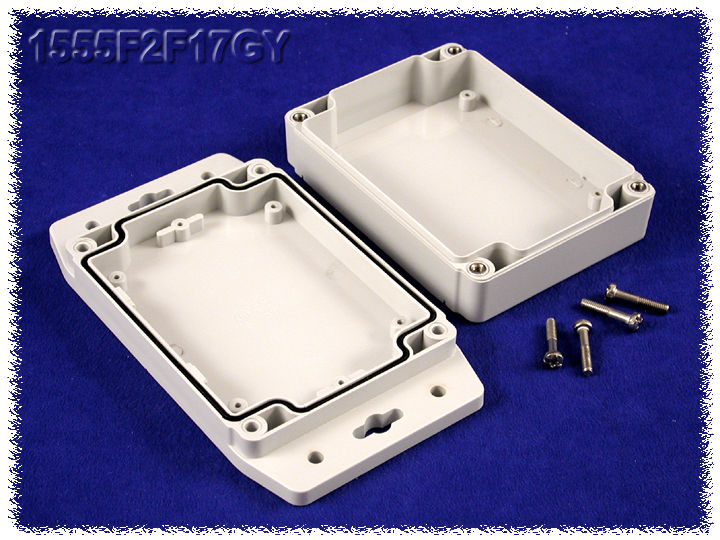 Hammond Mfg Abs Plastic Amp Polycarb Watertight Flanged