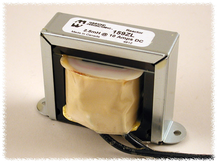 Hammond Manufacturing 195P10 Heavy Current DC Reactor Filter Choke 30mH 10 Amps