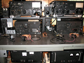 Popular military surplus AN/ART-13 and Navy ATC transmitter power supply project.